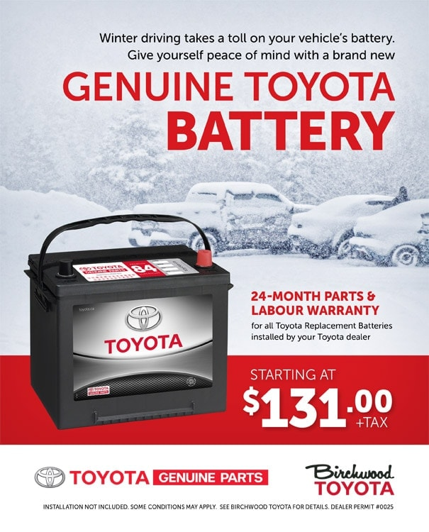 Toyota Replacement Batteries