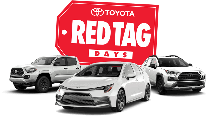 Toyota Red Tag Days