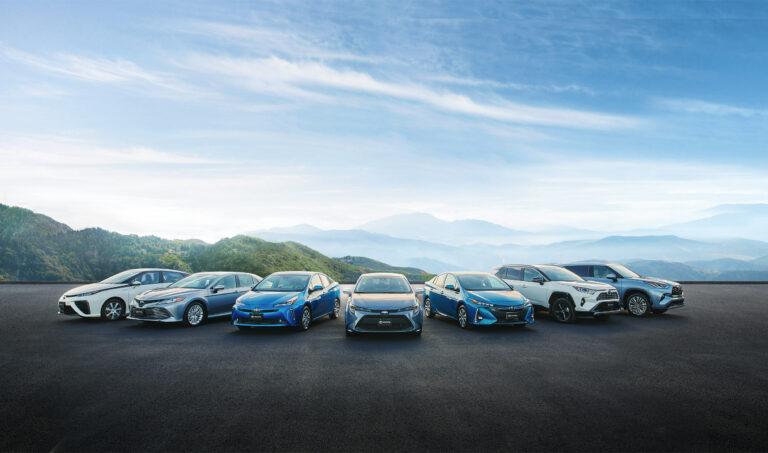 Toyota 2020 Hybrid Lineup